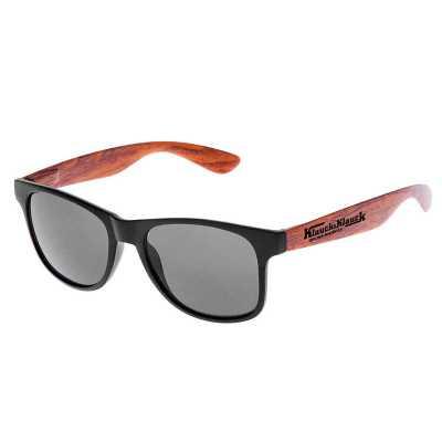 nexo-brindes - Óculos de Sol Personalizado Wooden
