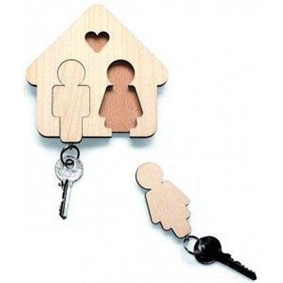 ecco-brindes - Porta chaves de madeira