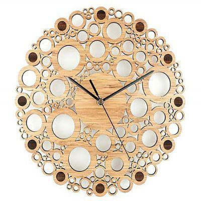 ecco-brindes - Relógio de madeira