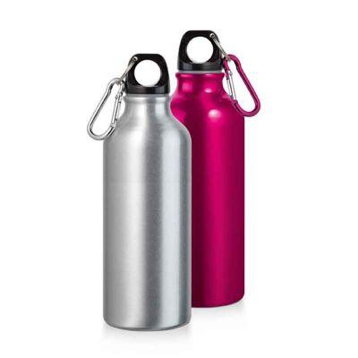 Nexo Brindes - Squeeze alumínio com mosquetão