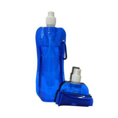 ecco-brindes - Squeeze dobrável em plástico, 500ml
