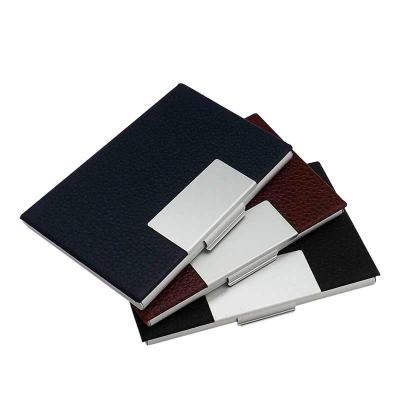 MDM Brindes - Porta Cartão couro Sintético