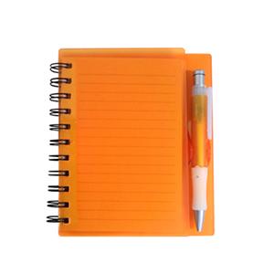 MDM Brindes Promocionais e Personalizados - Bloco de anotações com sticky-notes e minicaneta, disponível em várias cores