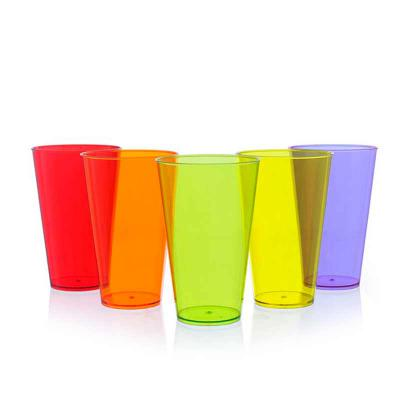 MDM Brindes - Copo super drink 550ml fabricado em Ps Cristal, disponível em diversas cores, Personalizado em Silk