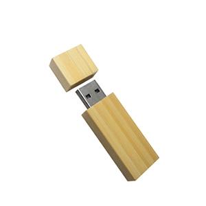 Pen drive em bambu de 4 Gb
