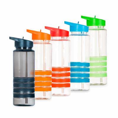 mdm-brindes - Squeeze Plástico 750ml com Bico e Canudo