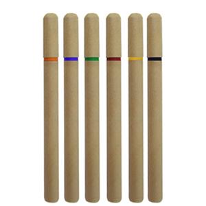 mdm-brindes - Caneta de bambu com detalhes em plástico