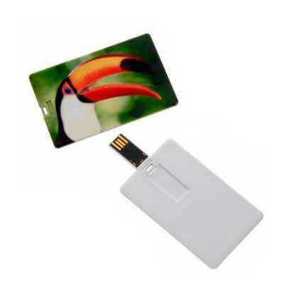 Pen Card PVC Personalizado 4 e 8 GB - MDM Brindes