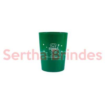 sertha-brindes - Copo 250ml  Verde - Gravação em Silk