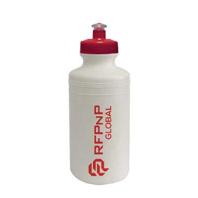 Sertha Brindes - Squeeze plástico 500ml Silk com Tampa Vermelha