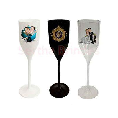 sertha-brindes - Taça de Champagne