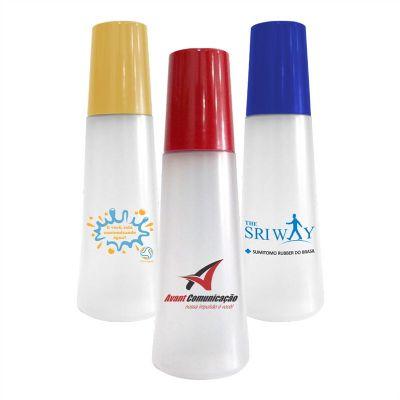 Moringa plástica 1 Litro com copo 250ml - Gravação em Silkscreen