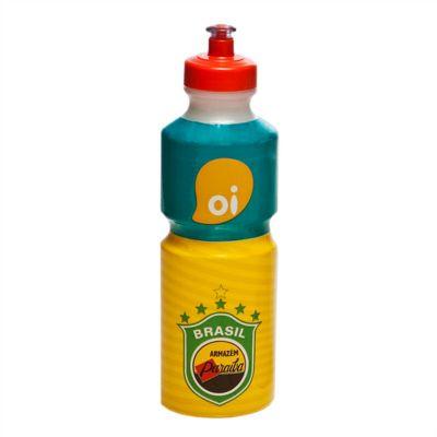 sertha-brindes - Squeeze plástico 750ml com gravação em sleeve