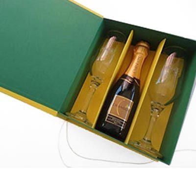 Ibérica Embalagens Premium - Caixa cartonada (rígida) cores da copa, ideal para bebida e taças