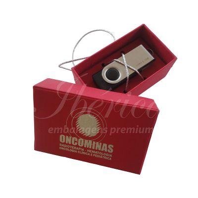 Ibérica Embalagens Premium - Caixa para pen drive.