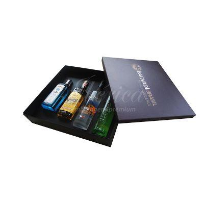 Iberica Embalagens - Embalagem cartonada revestida em papel especial brilho.