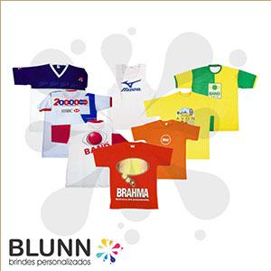 Blunn - Camiseta sob encomenda, personalizada em silk-screen, transfer ou bordado