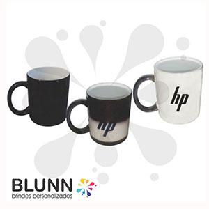 blunn - Caneca mágica de cerâmica de 300 ml disponível somente na cor preta