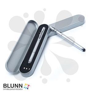 Caneta 4 em 1 de metal - Blunn