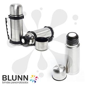 Blunn - Garrafa térmica em inox, tamanhos e modelos variados