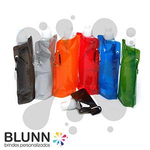 blunn - Squeeze dobrável flexível, é uma garrafa de água reutilizável