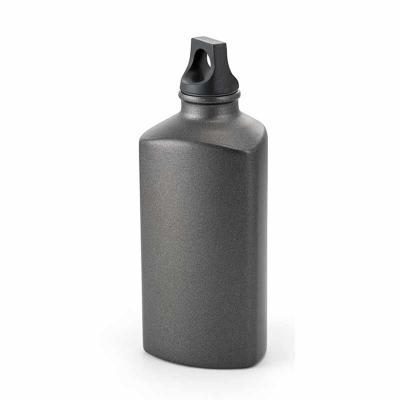 Lindo squeeze de alumínio 600ml na cor chumbo personalizado e tampa em plástico. Temos outros mod...