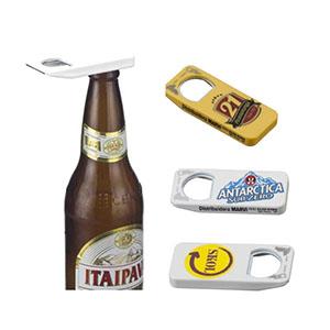 NTS Brindes - Abridor de garrafa - plástico com metal - a partir de 500 peças