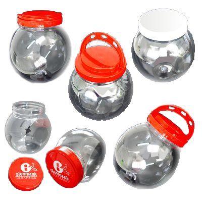 NTS Brindes - Baleiro personalizado em plástico pet transparente - 1000 ml