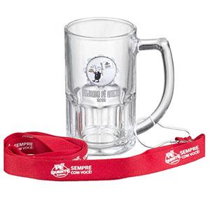 NTS Brindes - Caneca de chopp 500 ml em vidro