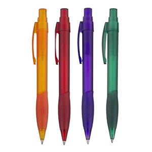 NTS Brindes - Caneta plástica, cores variadas para sua escolha
