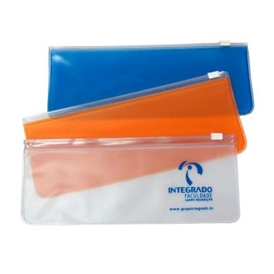 NTS Brindes - Estojo personalizado em PVC All clear com zip