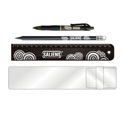 NTS Brindes - Kit escolar personalizado - Max black