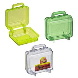 nts-brindes - Maleta em plástico translucido disponível em varias cores