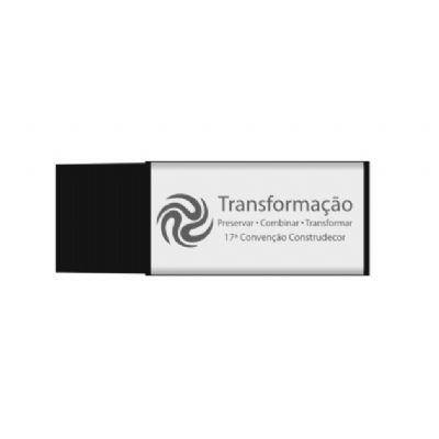nts-brindes - Pen drive retangular personalizado - 8G