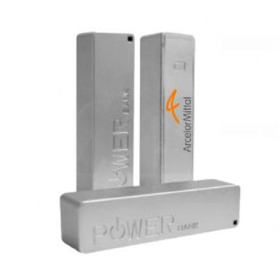 NTS Brindes - Carregador portátil Powerbank - Personalizado