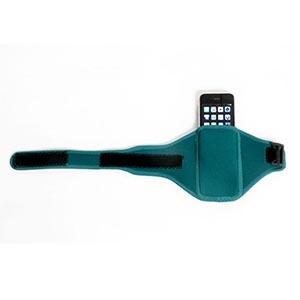 Acapulco Corporate Wear - Braçadeira para Iphone, celular, com bolso e regulagem com velcro e passador de nylon Tecido: Neoprene 3mm