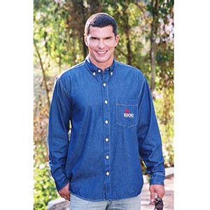 Acapulco Corporate Wear - Camisa  jeans masculina