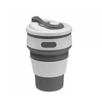 brindez-brindes-promocionais - Copo retrátil com tampa silicone