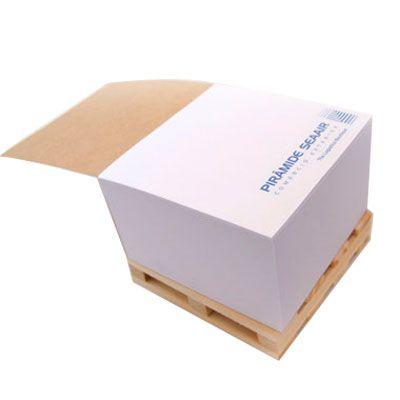 Brindez Brindes Promocionais - Mini pallet com bloco de anotações.