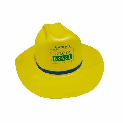 Brindes Visão - O Rei do E.V.A... - Chapéu cowboy - Copa