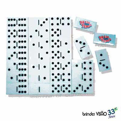 Brindes Visão - O Rei do E.V.A... - Jogo de dominó