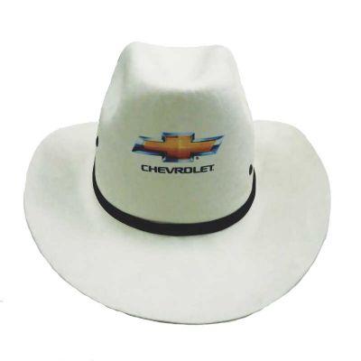 Brindes Visão - Chapéu modelo Cowboy em E.V.A. diversas cores. Copa alta, ótima qualidade de acabamento