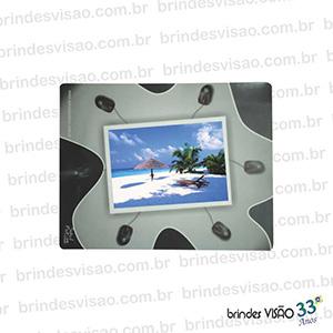 Brindes Visão - O Rei do E.V.A... - Mouse Pad com espaço para o cliente colocar sua foto preferida