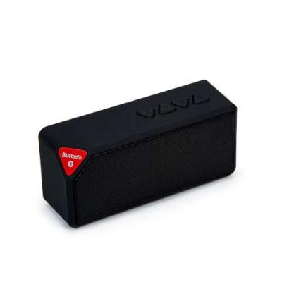Caixa de som multimídia, rádio FM, alto falante de 80db, bluetooth 2.1, entrada USB, entrada micr...