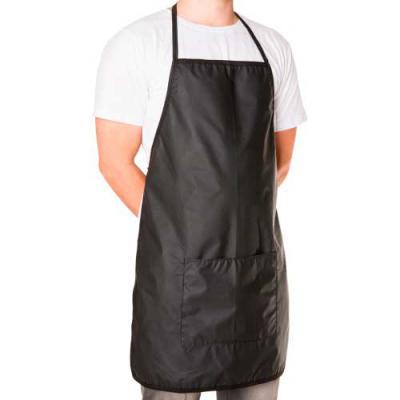 Ewox Promocional - Avental de material bagun sintético com bolso inferior frontal.