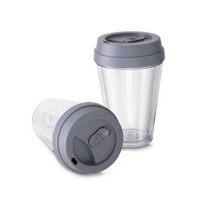 Ewox Promocional - Copo Plástico com Tampa 280ml