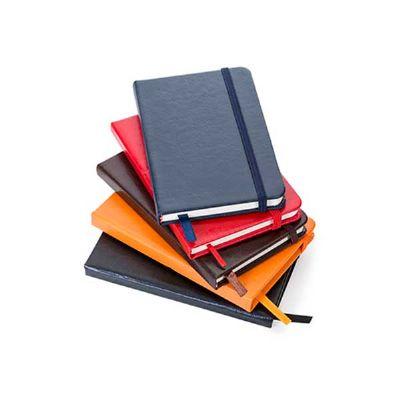Caderneta Brochura em Couro Sintético
