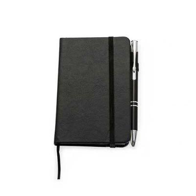 ewox-promocional - Kit Caderneta de bolso com Caneta