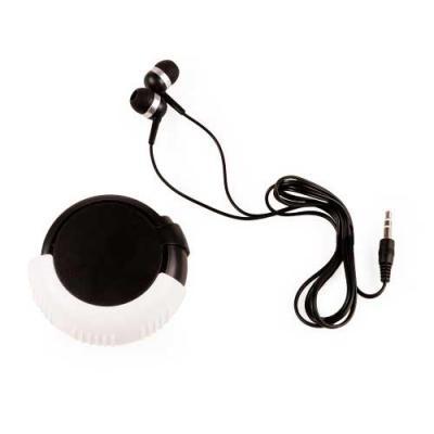 Fone de ouvido plástico em estojo. Fone de ouvido auricular de entrada P2, compatível com a maior...