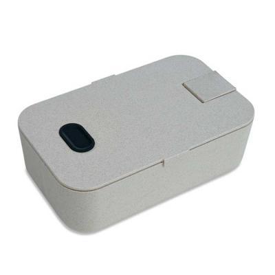 Marmita plástica com suporte para celular e divisória interna. Marmita com encaixes laterais para...